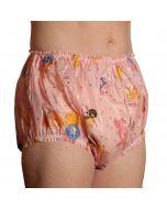 Christy Plastik Pants, Nursery Print