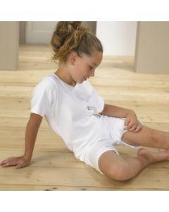 4CARE Body mit Druckknöpfen im Schritt (Kinder Grössen)