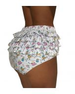 Ruffled PVC Panties - Fabimonti