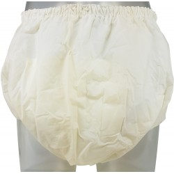 Pull-on Cloth Diapers with PVC Backing