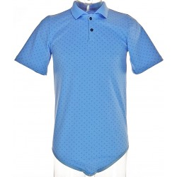 CareClo Polo Body, Blue