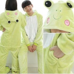 Fleece Kigurumi - Frog
