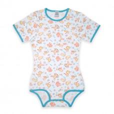 Bodysuit Onesie with Pocket, Splash Print