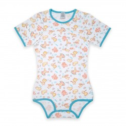 Bodysuit Onesie with Pocket, Splash Print