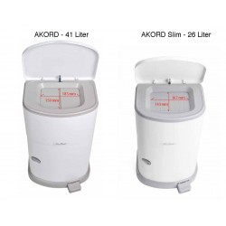 Janibell Akord Incontinence Disposal System, 26 and 41 Liter