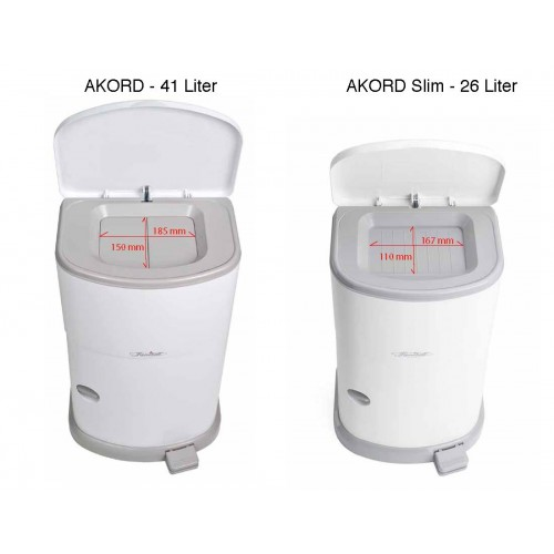 Janibell Akord Incontinence Disposal System, 26 and 41 Liter (OV647) €34.99
