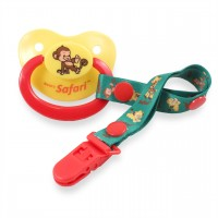 Rearz Pacifiers with Clip, Multiple Prints