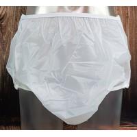 Drylife Vinyl Snap-On Plastic Pants, Semi-Clear White (PB285SC-1) €15.95
