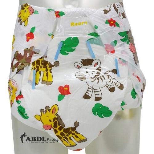 Rearz Safari Print, Crazy Absorbent Plastic Backed (PL164S) €19.95