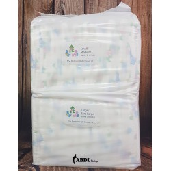 Bambino Magnifico, Plastic Backed Printed Diapers