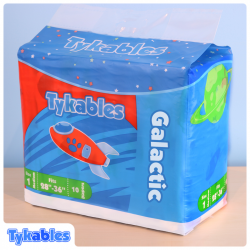 Tykables Galactic, Plastic Backed