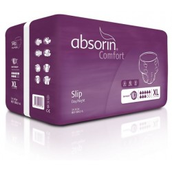 Absorin Comfort Slip Day/Night, Cotton Feel