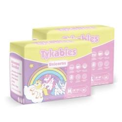 Tykables Unicorns, Plastic Backed