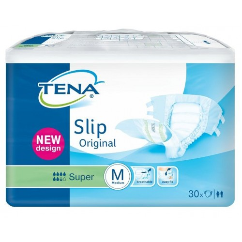 Tena Slip SUPER Original,  Semi-Plastic Backed