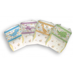 Tykables Little Rawrs, Printed Adult Diapers