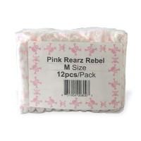 Rearz Rebel PINK Skull Print Plastic Backed (PL796) €18.50