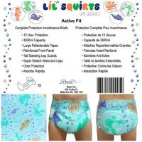 Rearz Lil Squirts Single Tape Printed Briefs, 12 Pack (PL174) €20.95