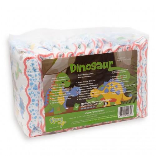Rearz Dinosaur Elite Diapers, max 6200ml