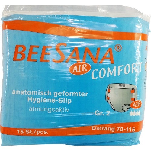 BEESANA Slip Air (Cotton Feel), 15 Pack (PL138-1) €12.85