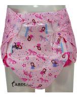 Rearz Roze Princes Print, Super Absorberend, Plastic Buitenlaag