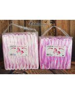 Roze SUPER Dotty de Pony Luiers V2, Plastic Buitenlaag