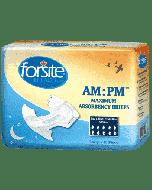 Forsite Slip AM-PM Max. Absorbency, Plastic Buitenlaag, GEHEEL WIT