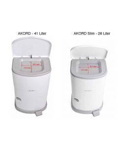 Janibell Akord Incontinentie Luieremmer, 26 en 41 Liter