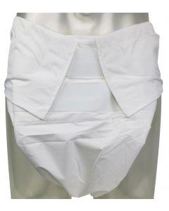 Sumo Style Wasbare Luier met PUL Buitenlaag, Wit