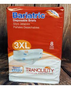 Tranquility Bariatric 3XL Wegwerpluier (2190) Cotton-Feel