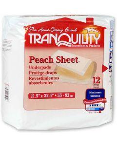 Tranquility Peach Sheet Onderleggers